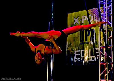Natasha Wang Pole Dancer