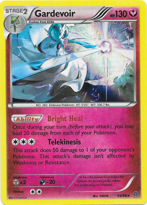 Gardevoir Ancient Origins Pokemon Card Review