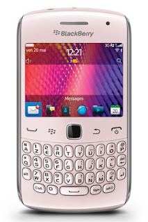 BlackBerry Smartphone, Pink BlackBerry Curve 9360