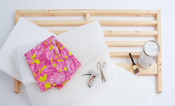 Diy como tapizar un cabecero oasisingular - Tapizar un cabecero de cama ...