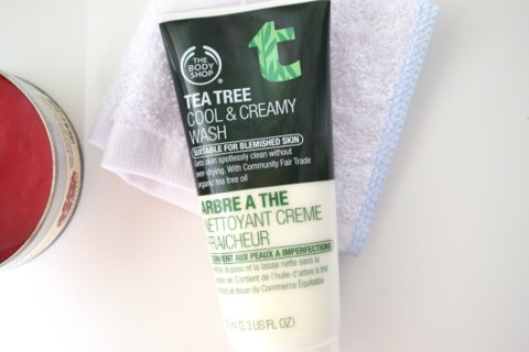 The Body Shop Tea Tree Cool and Creamy Wash