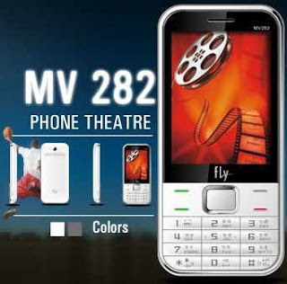 Fly MV282 is dual-SIM Mobile for India with price of Rs.2,889