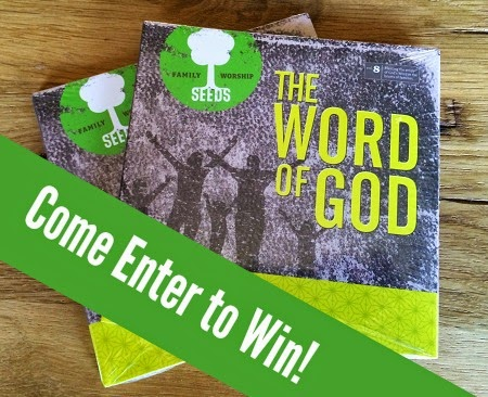 Come enter to win a copy of the new SEEDS Family Worship CD-Scripture Memory for the whole family! {The Unlikely Homeschool}
