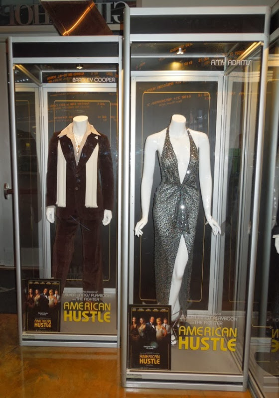 American Hustle Bradley Cooper Amy Adams movie costumes