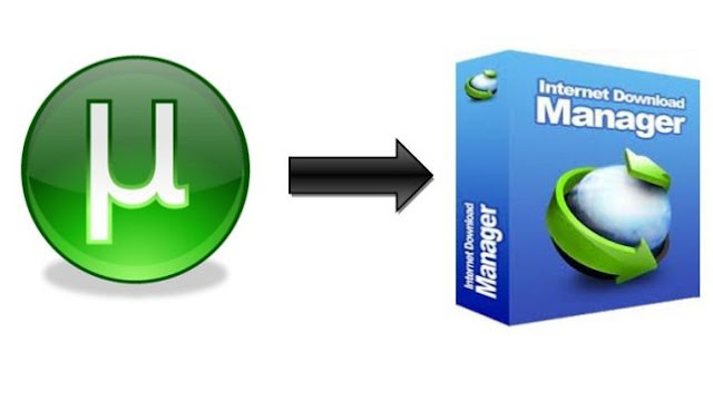 Download torrent files using IDM