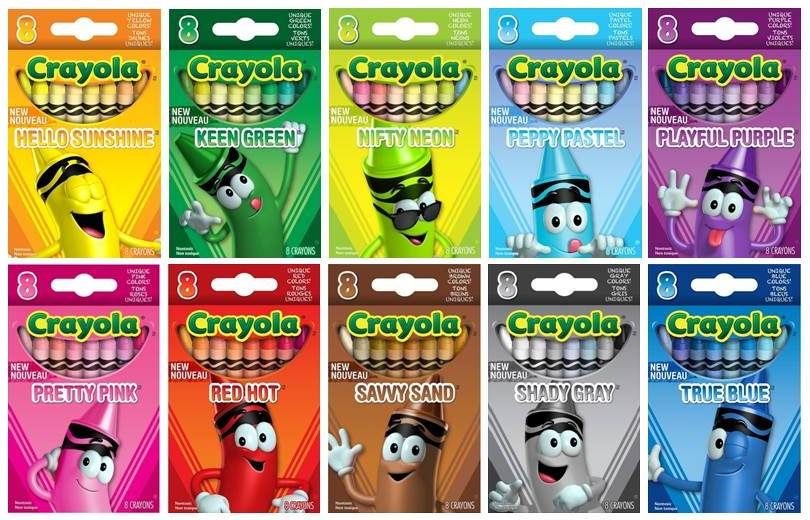 The Crayon Blog New for 2013 The Crayola Tip Color Collection Set