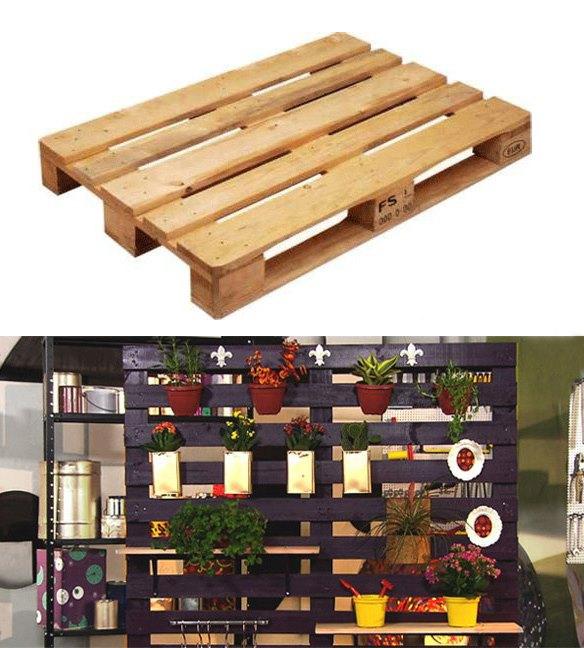 horta e jardim livro:Transformando pallets em uma horta ou jardim vertical!