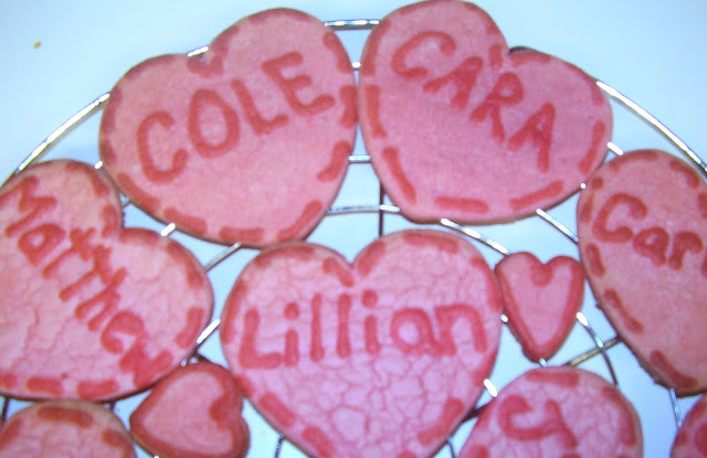 Valentine's Day Heart Cookies 1