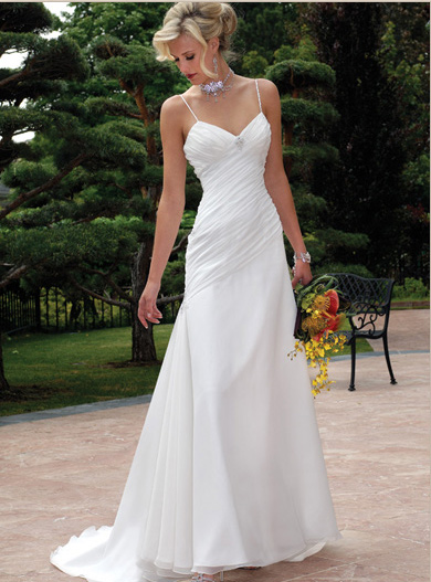 Wedding accessories ideas for Simple casual wedding dresses