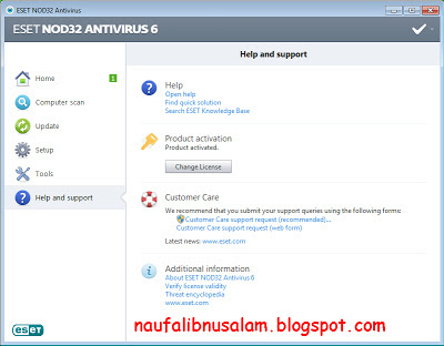 Free Download Key ESET NOD32 Terbaru | Update
