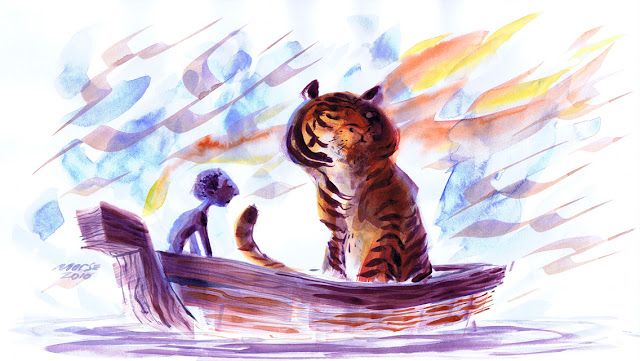 """Life of Pi"" HD Wallpapers for iPhone 5 and iPod touch 05"