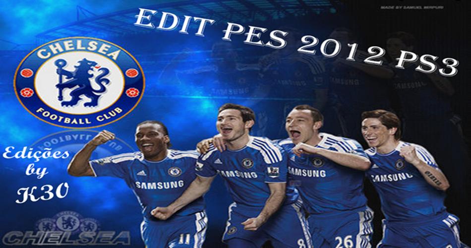 Edit PES 2012/2013 PS3