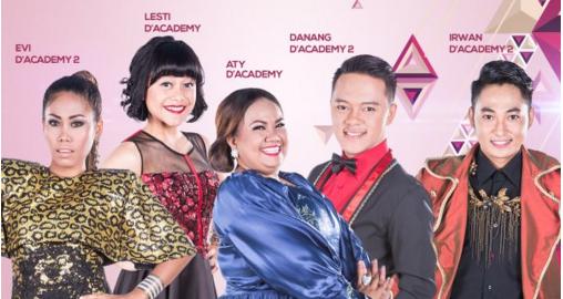 Pembagian Group Peserta Dangdut Academy Asia