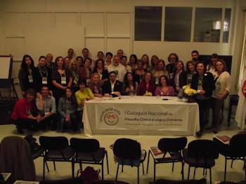 Primeiro Colóquio Nacional de Filosofia Clínica. Em 2012 no Hospital Psiquiátrico. Porto Alegre/RS