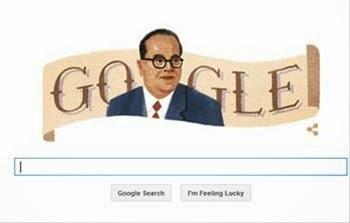 Dr. Babasaheb Ambedkar Google Doodle