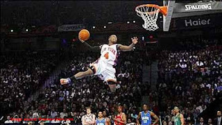 lebron james vertical jump Photo
