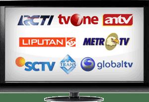 TV Online RCTI, SCTV, Trans7, MetroTV, TransTV, Indosiar, ANTV