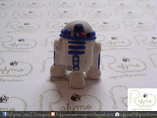 R2D2 Belen de Star Wars hecho con Fimo