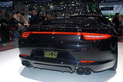 Salon de l'auto de Genève 2013: la Porsche 991 cabriolet par Techart