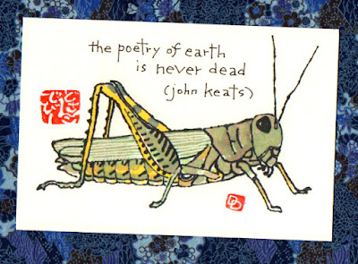 on the grasshopper and the cricket by john keats It is a fact that in his life keats was a neglected poet wordsworth rejected him as a pagan shelley called him greek but leigh hunt only could see a great poet in him quite sometime after his death, slowly the interest in is works grew.