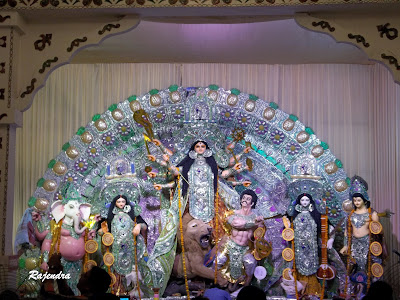 Maa Durga and Her Family