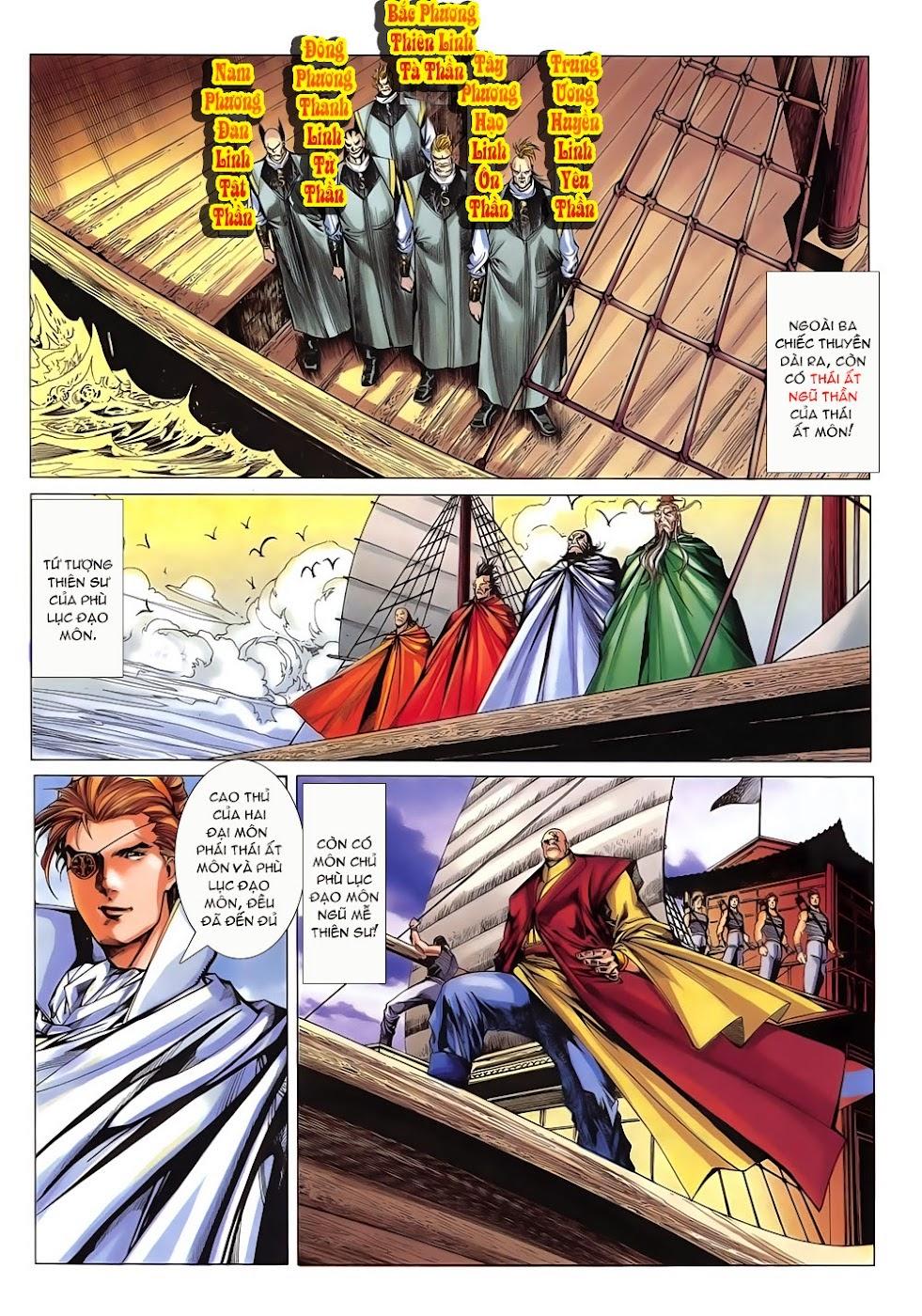 Lục Đạo Thiên Thư chap 15 - Trang 10