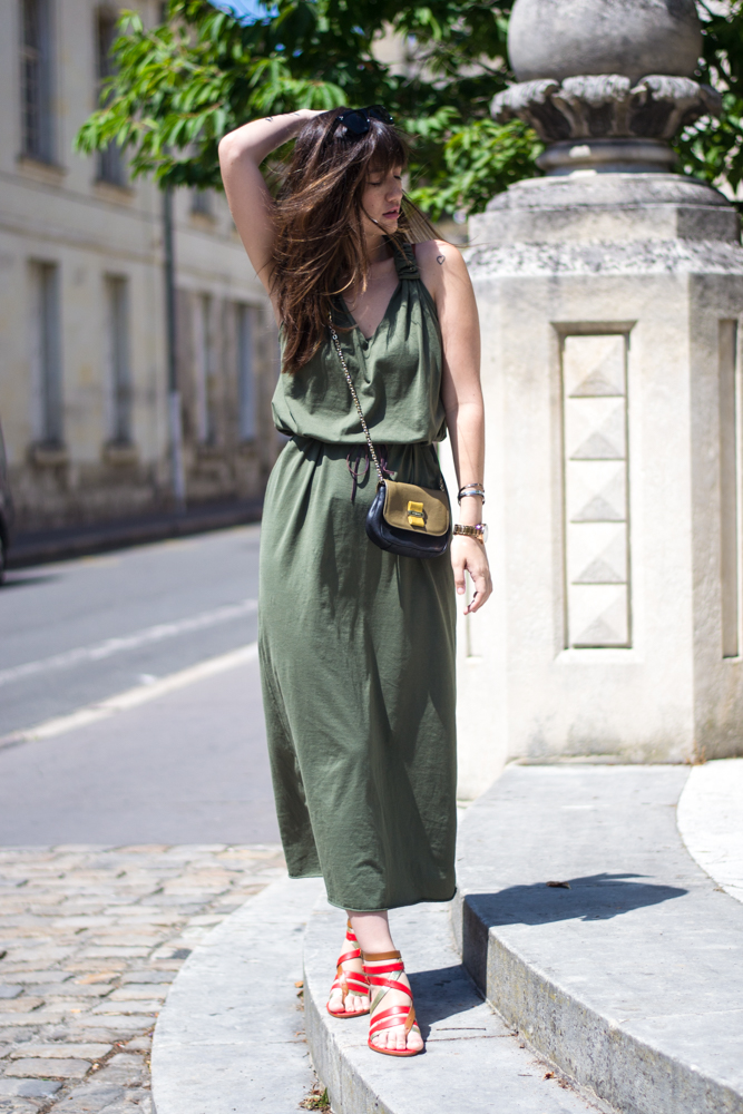 Paris streetstye, summer dress, look, womenswear blogger, meet me in paree