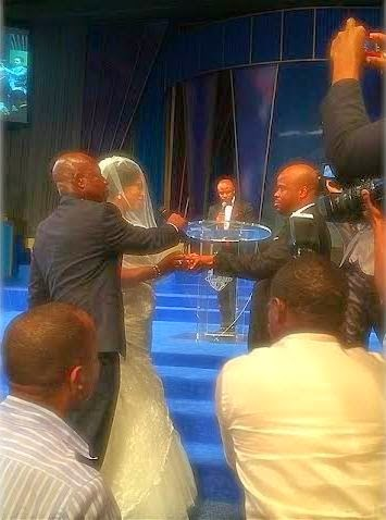 Photos: Gospel Singer Sinach's Church Wedding