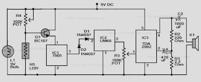 Smoke Detector circuit
