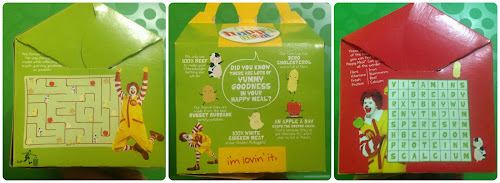 Happy Meal Box - Singapore