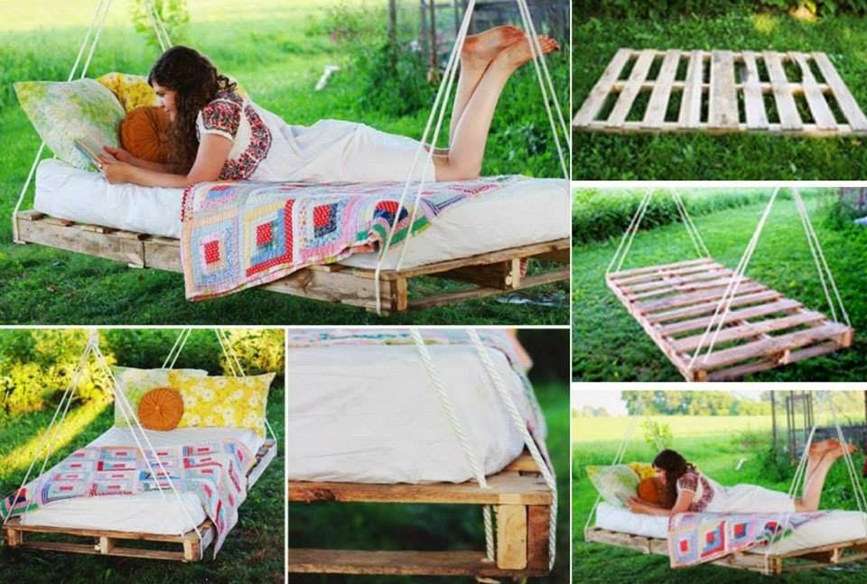 El detalle que hace la diferencia palet mania for Manual para hacer una cama de madera