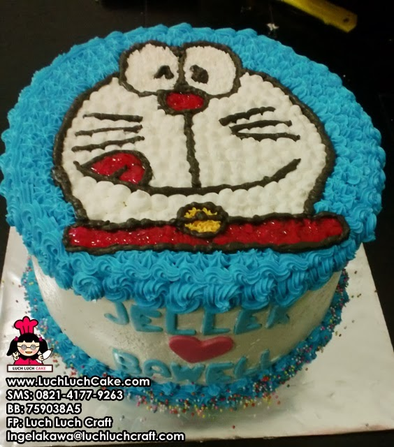 Kue Tart Doraemon Melet Daerah Surabaya - Sidoarjo