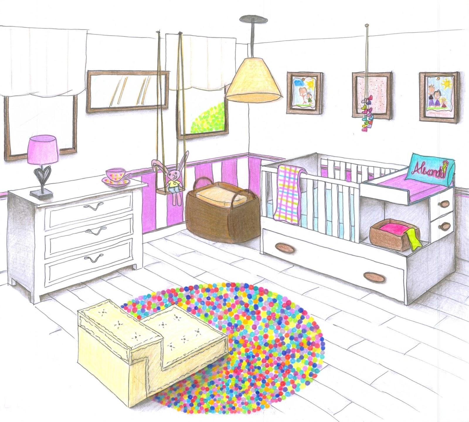 Dise o interior for Diseno de interiores dibujos