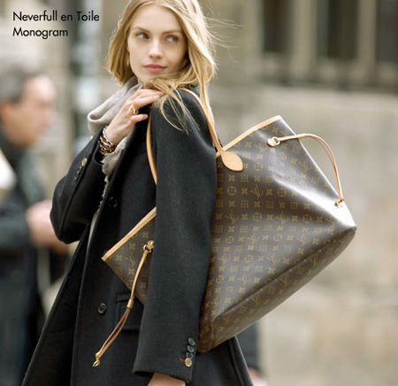 Neverfull MM - Louis Vuitton Monogram Handbag for Women ...