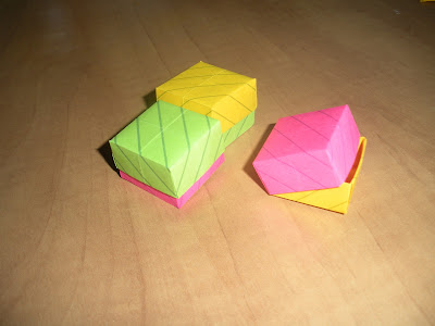 Paper Tape Pins Origami With Post It Notes