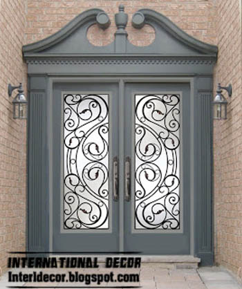 This Is Best 10 Wrought iron glass door inserts & French doors ...