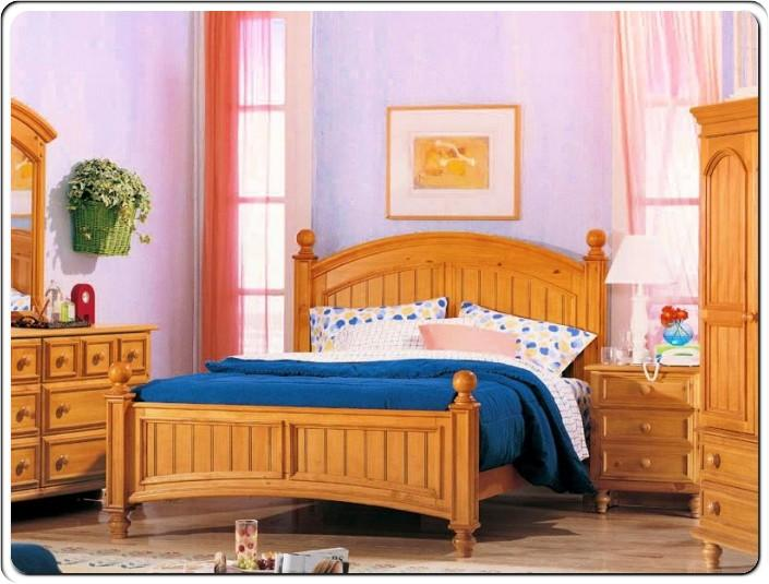 classic wood kids bedroom furniture