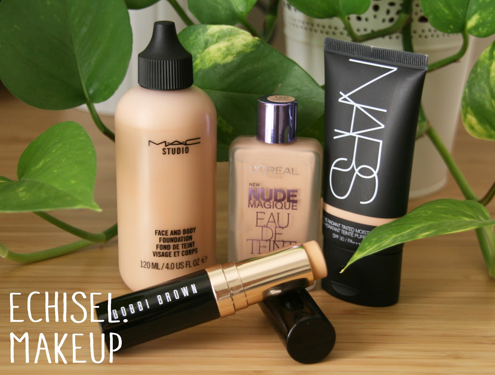 base de maquillaje ligera