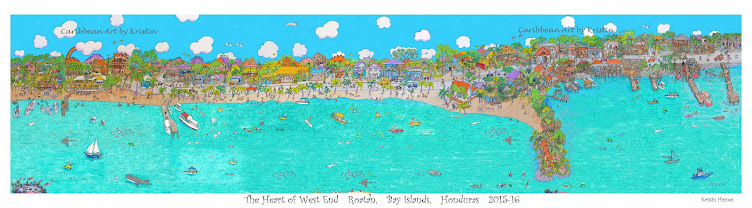 Caribbean Art by Kristin