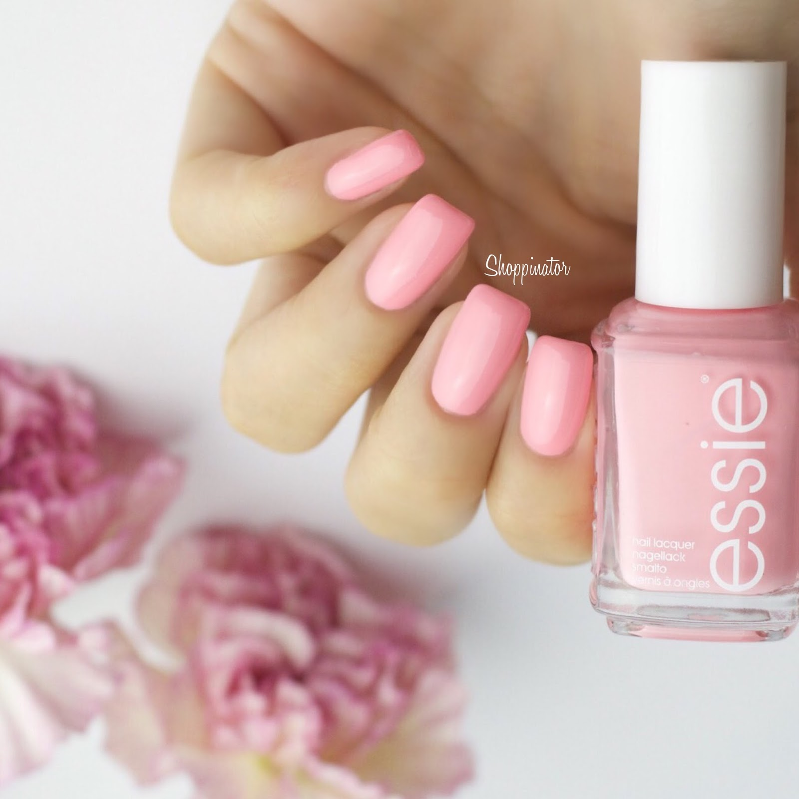 Shoppinator-Essie-Essieliebe-Neon-Groove-is-in-the-heart-rosa-pink-Nagellack-Lack-Neonrosa-2015-Sommer-LE-limitiert-Make-some-noise-lackiert-Swatch-Review-Swatches