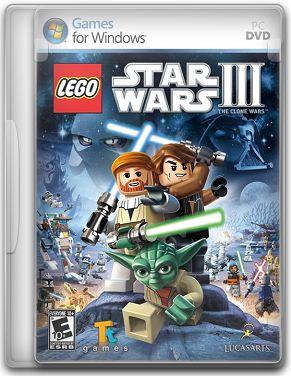 Capa LEGO Star Wars III: The Clone Wars   PC (Completo)