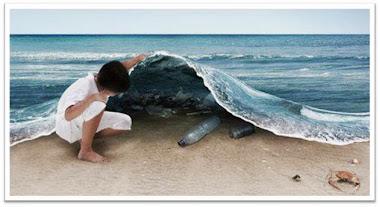 La transat c'est aussi un des cinq continents de plastique...