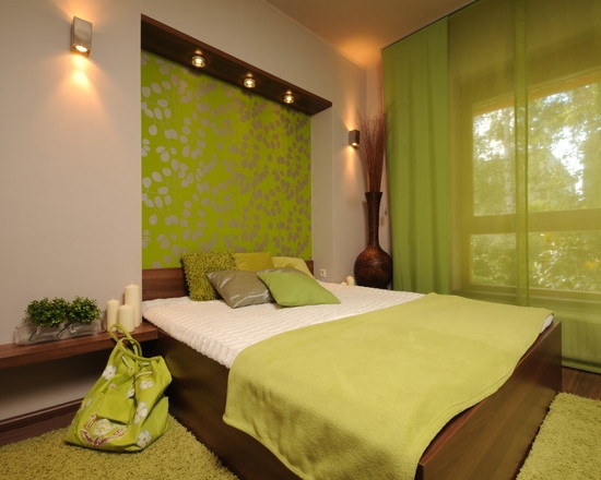 Eye For Design: Decorating With The Brown/ Lime Green Color Combination