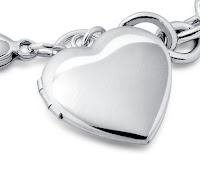 Sterling Silver Bracelet Sweetheart Locket4