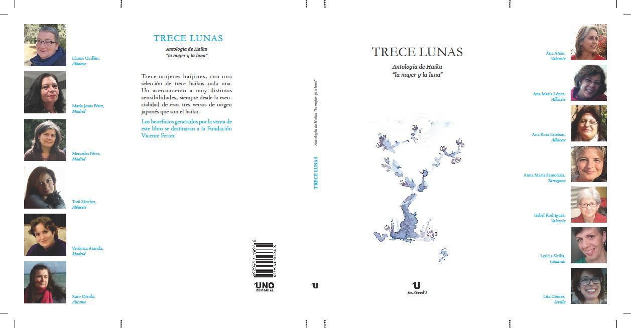TRECE LUNAS, ANTOLOGÍA DE HAIKU: LA MUJER Y LA LUNA