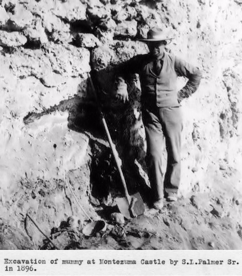 2-Year-Old Child Mummy Found at Montezuma Castle - 1896