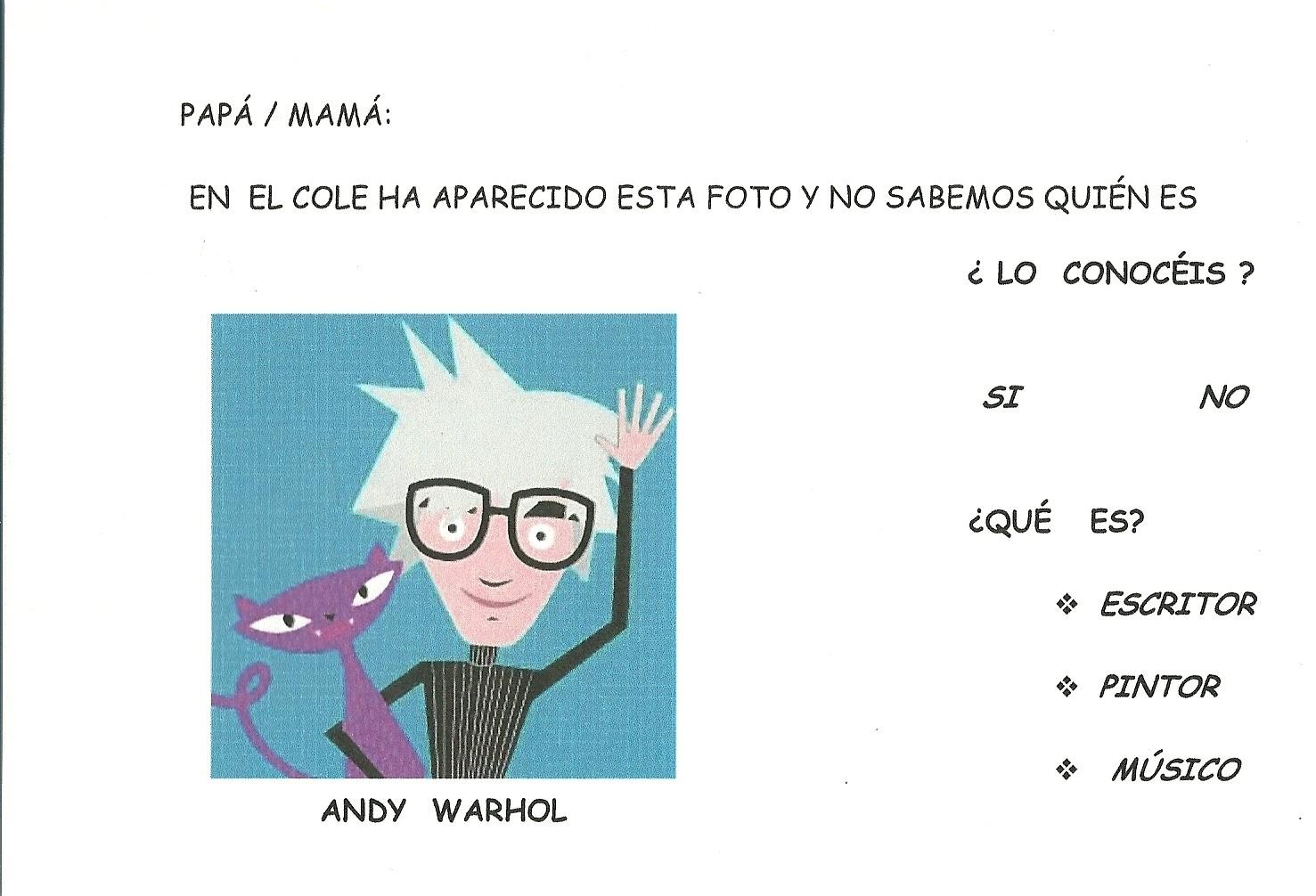 ANDY WARHOL | Leyendo a pinceladas