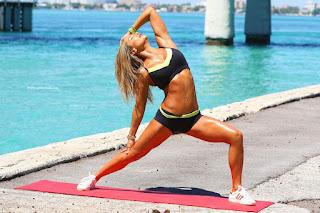 صور جنيفر نيكول لي تمارس الرياضة في ميامي