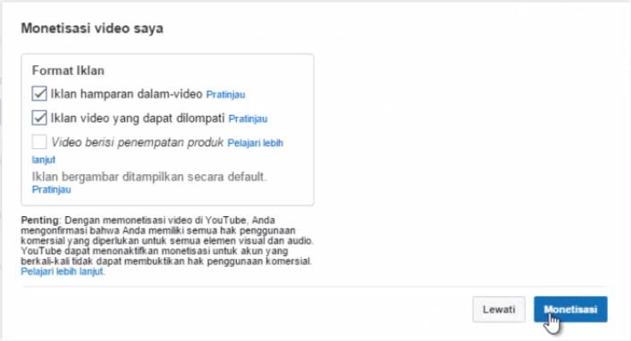 Cara Mengaitkan Akun Youtube dengan Adsense