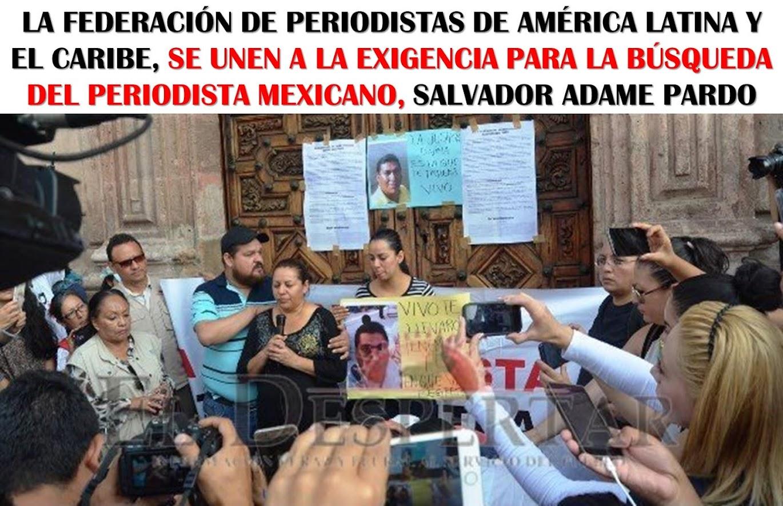 EXIGENCIA DE LA FEPALC AL GOBIERNO DE MÉXICO.